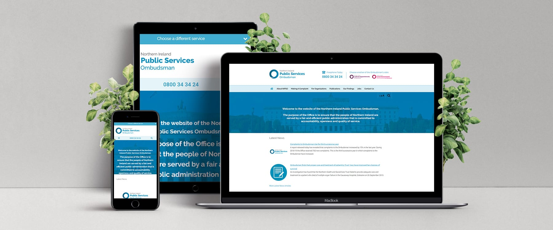 New website for restructured Northern Ireland Public Service Ombudsman Image