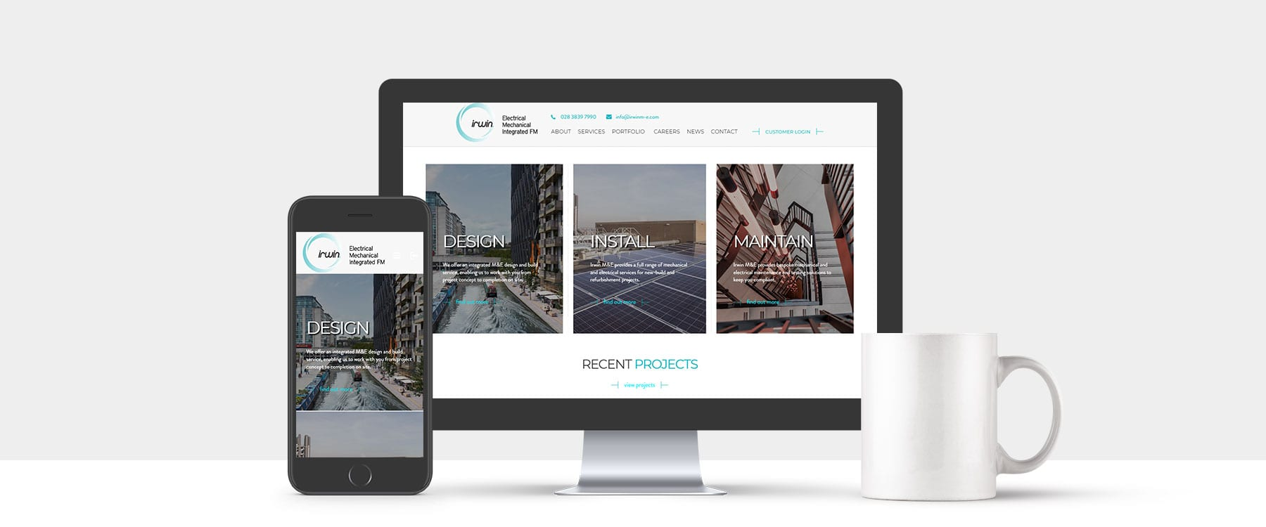 New Contemporary Site for Long Standing Client Irwin M&E Image
