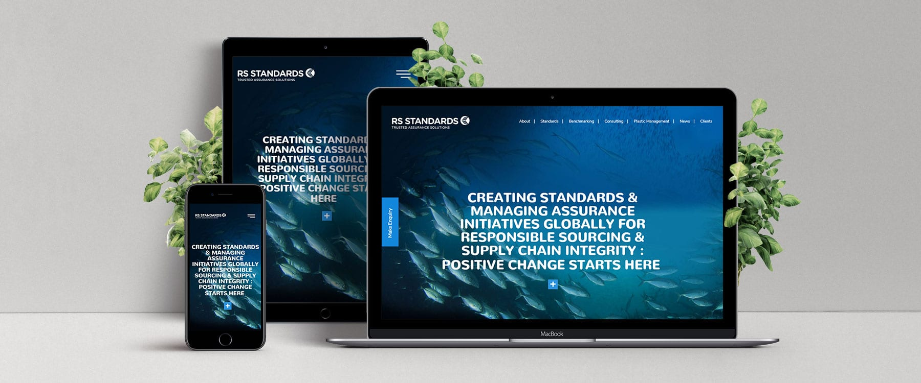 RS Standards Launch Their New Professional & Visually Engaging Website Image