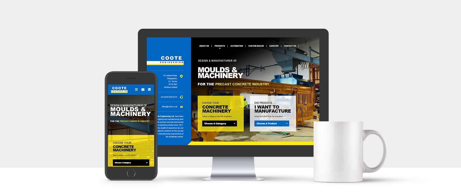 Long Established County Tyrone Company, Coote Engineering Ltd Launch New Website Image