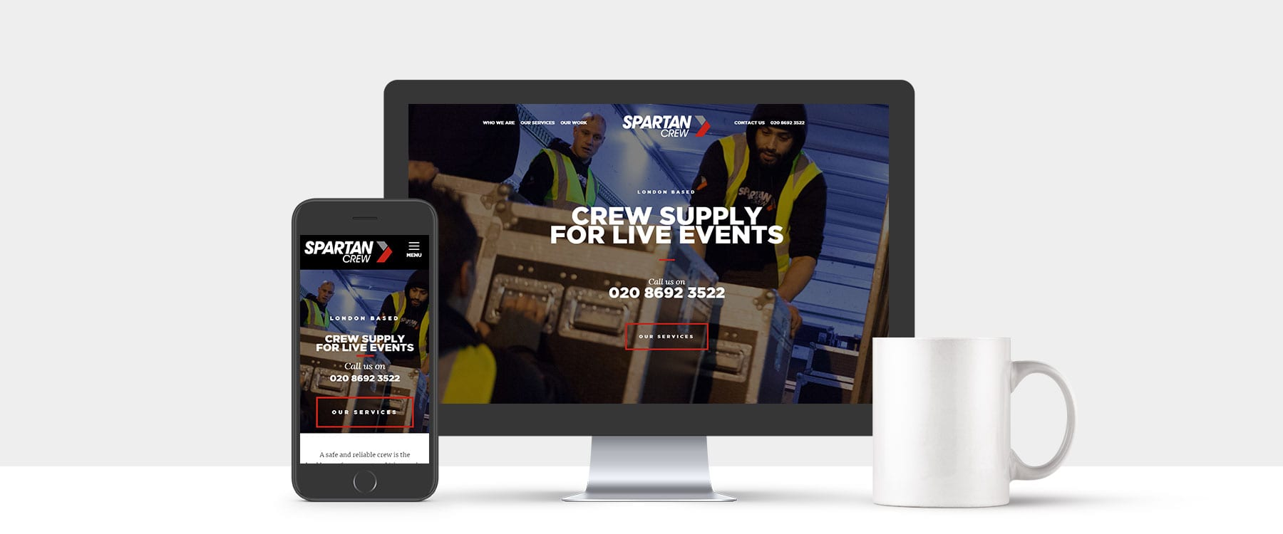 Brand New Website for London Based Spartan Crew Image