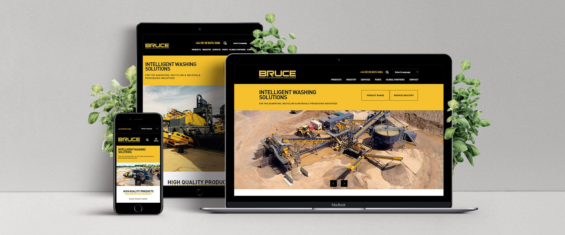 Website Redesign for Co. Tyrone Manufacturer Bruce Engineering Image