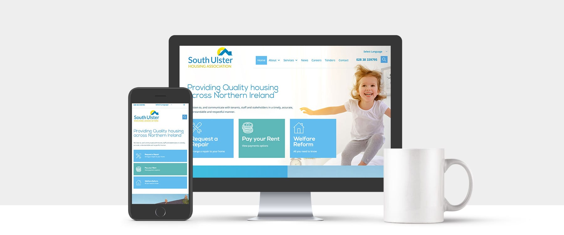 South Ulster Housing Association Launch New Cutting Edge Website Image