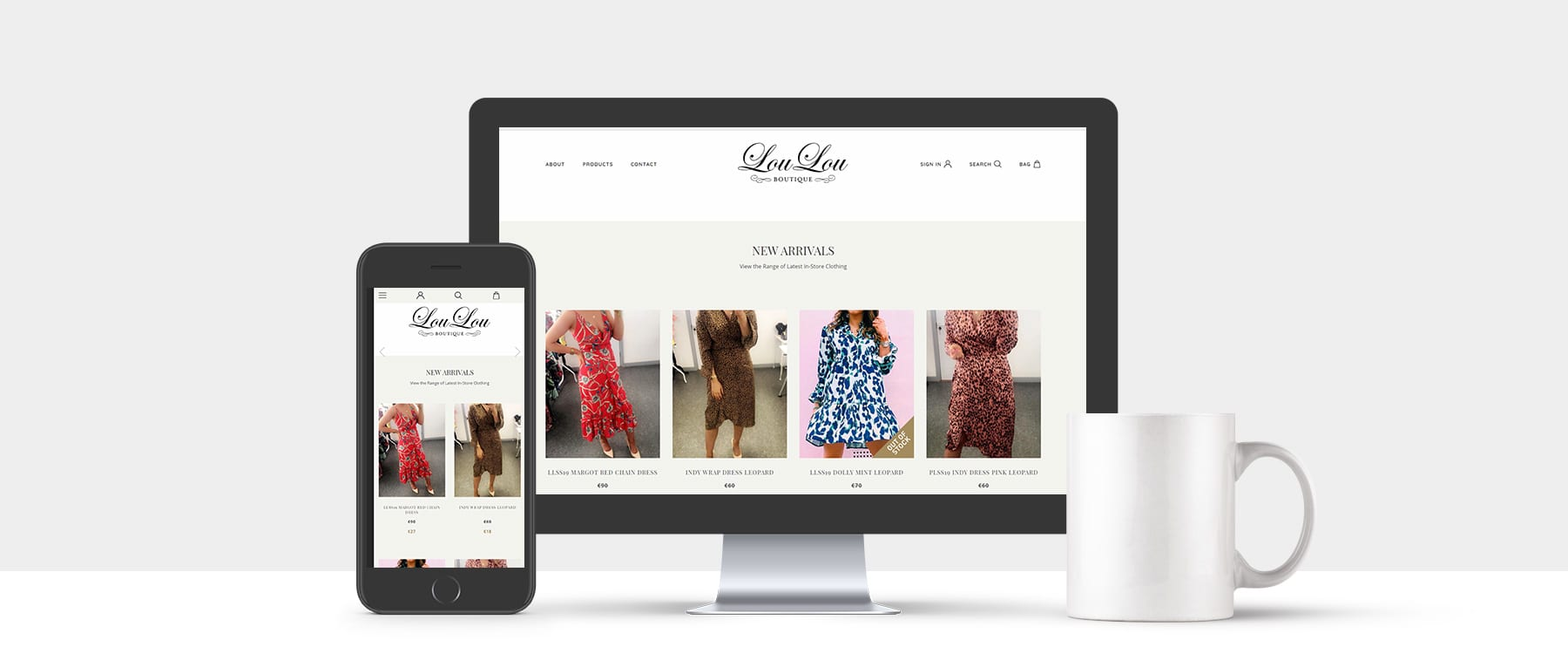 New eCommerce Website for Lou Lou Boutique, Monaghan Image