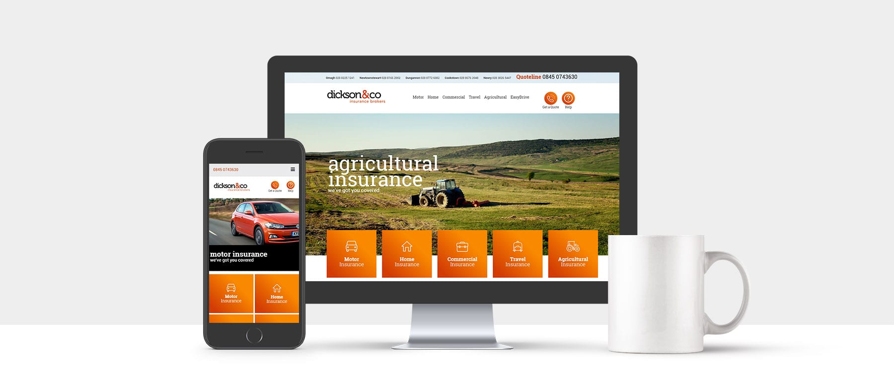 Dickson & Co Insurance Launch Brand New Website Image