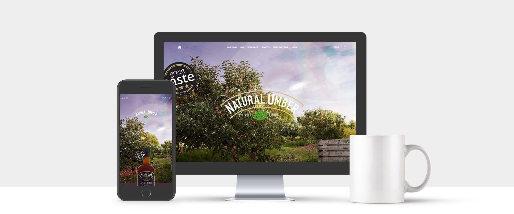 Buy the new Natural Umber Apple Cider Vinegar Online Now! Image