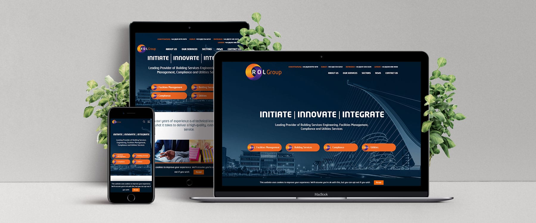 ROL Group Unveil Exciting New Branding & Brochure Website Image