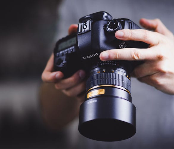 The Importance of Good Photography on your Website Featured Image
