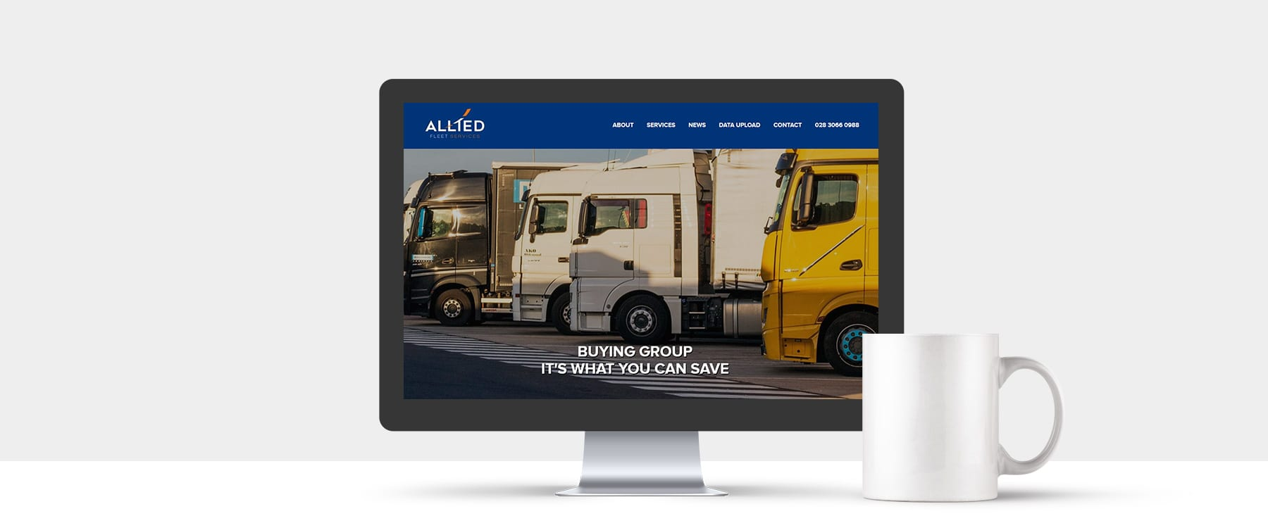 New Website Launch for County Armagh Company, Allied Fleet Services Image