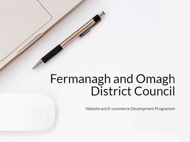 WebsiteNI's Digital Programme to Help Local Fermanagh & Omagh Businesses Online Presence Featured Image