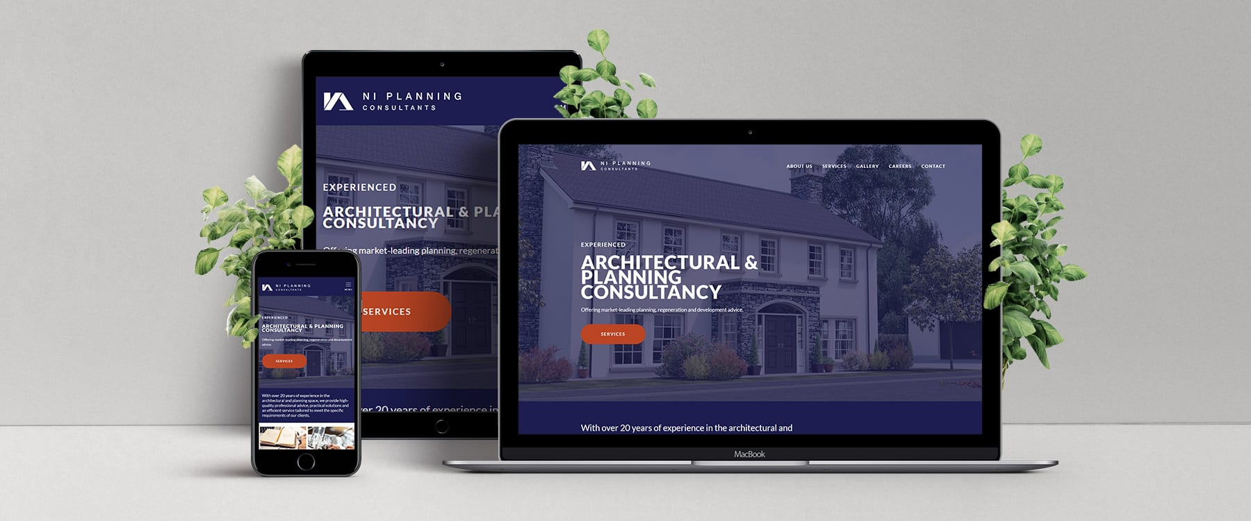 NI Planning Consultants Launch New Professional Website Image