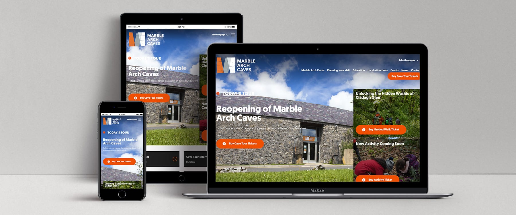 Tourism NI Website Development Programme Image