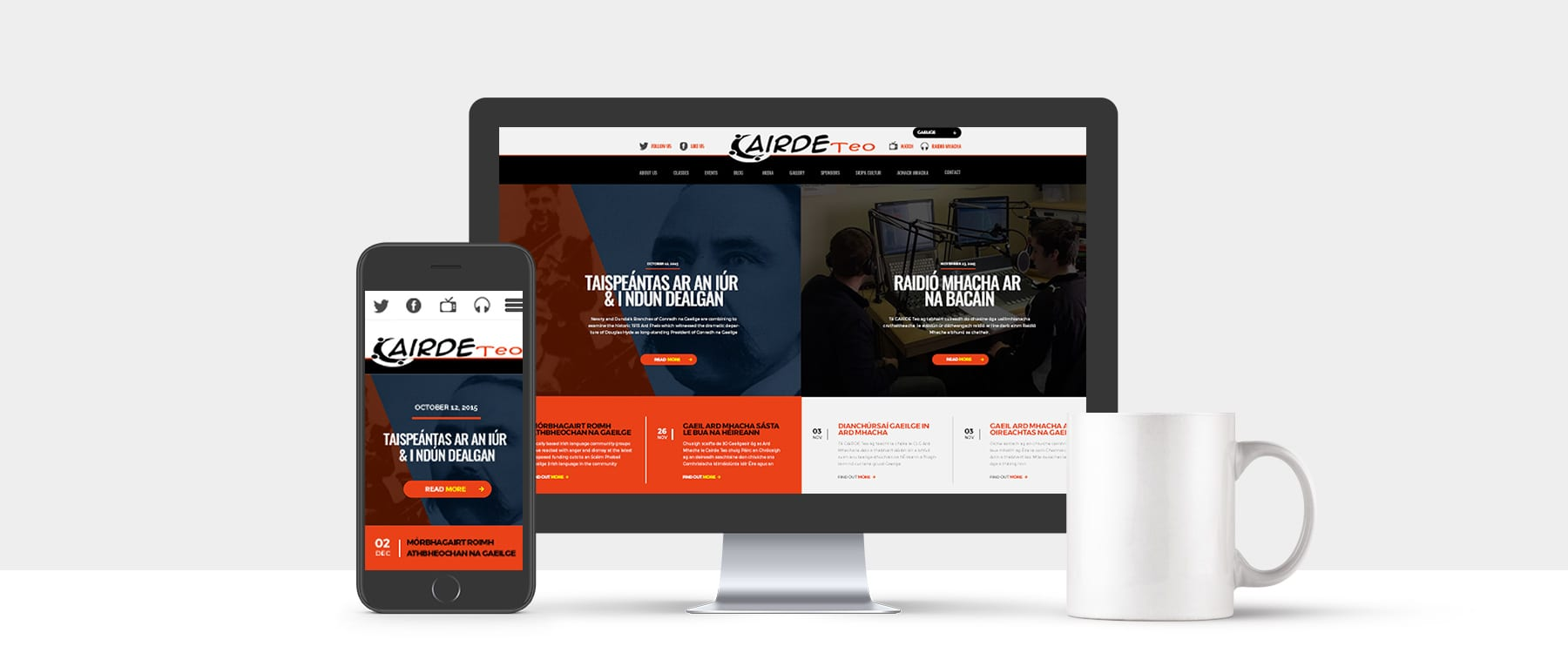 CAIRDE Teo Wins 'Best Irish Language Website' Image