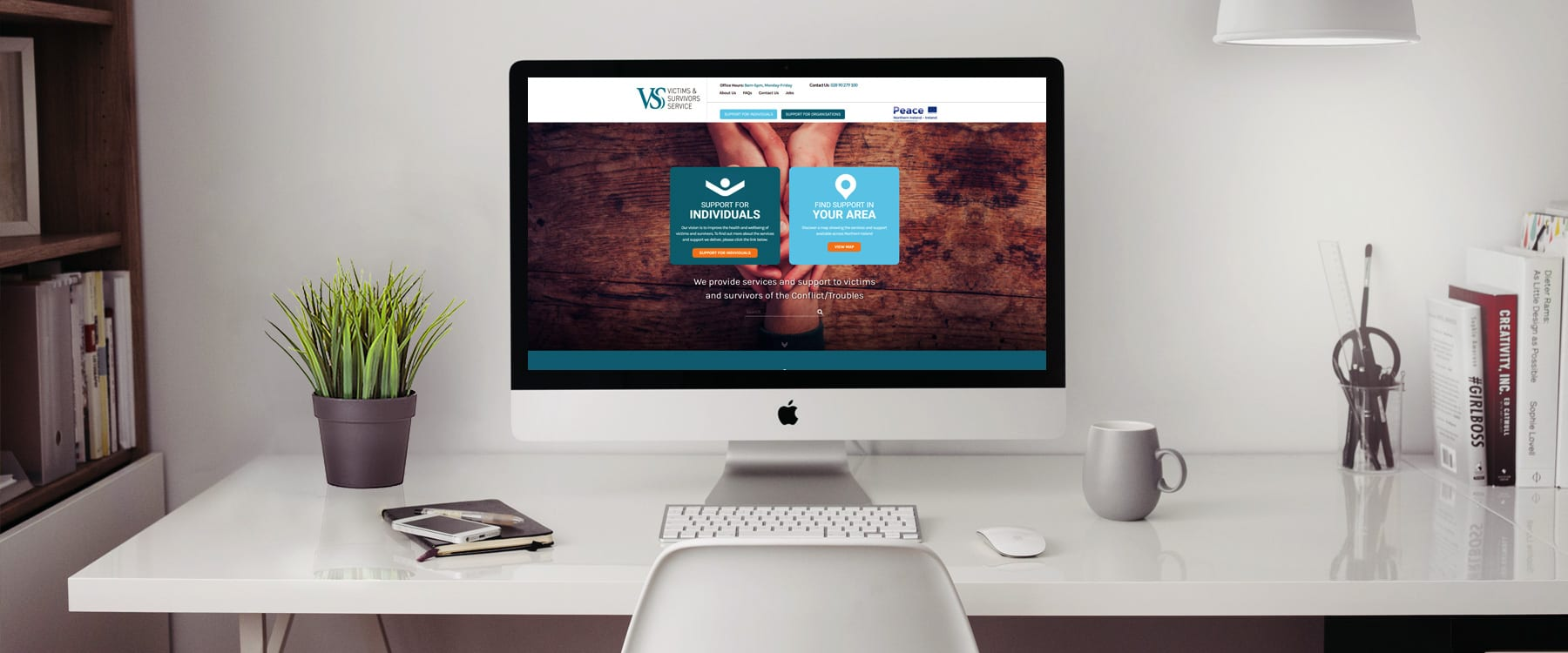 Belfast Charity Victim Support Services Launch New Website Image