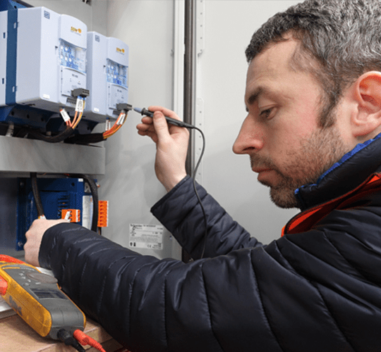 Contemporary New Website for County Tyrone Axon Power & Control Featured Image