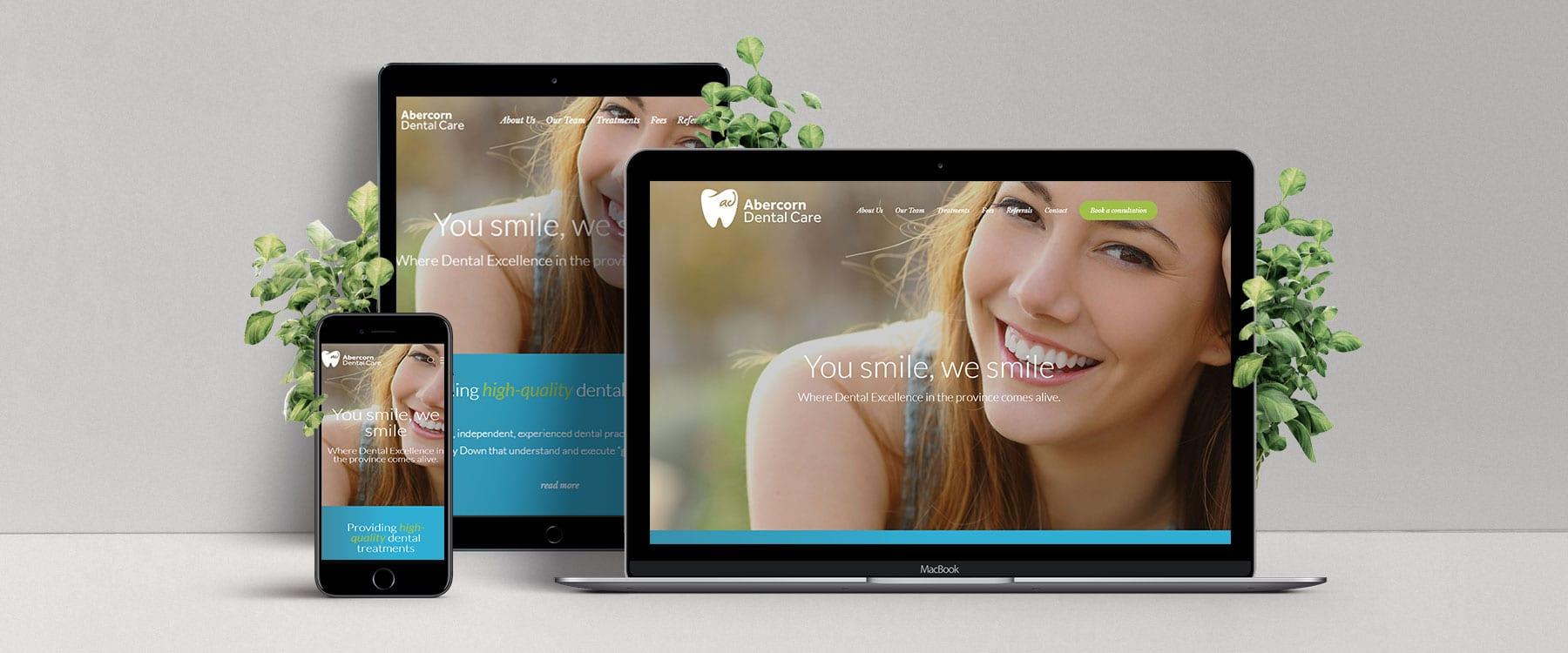 Abercorn Dental Launch Brand New Website Image