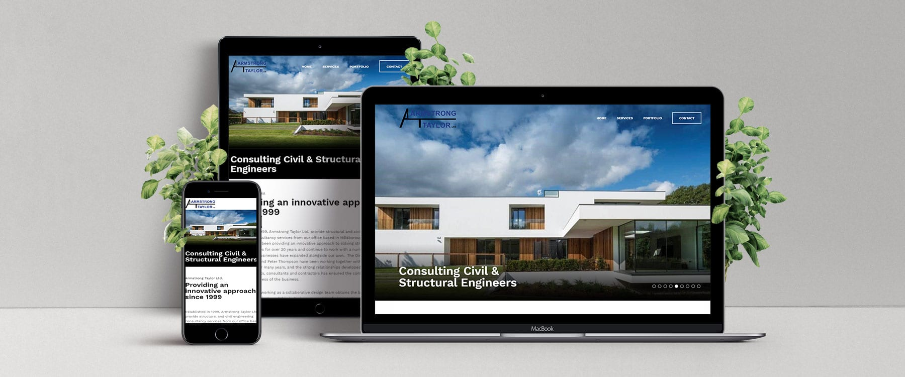 Brand New Website for Armstrong Taylor Image