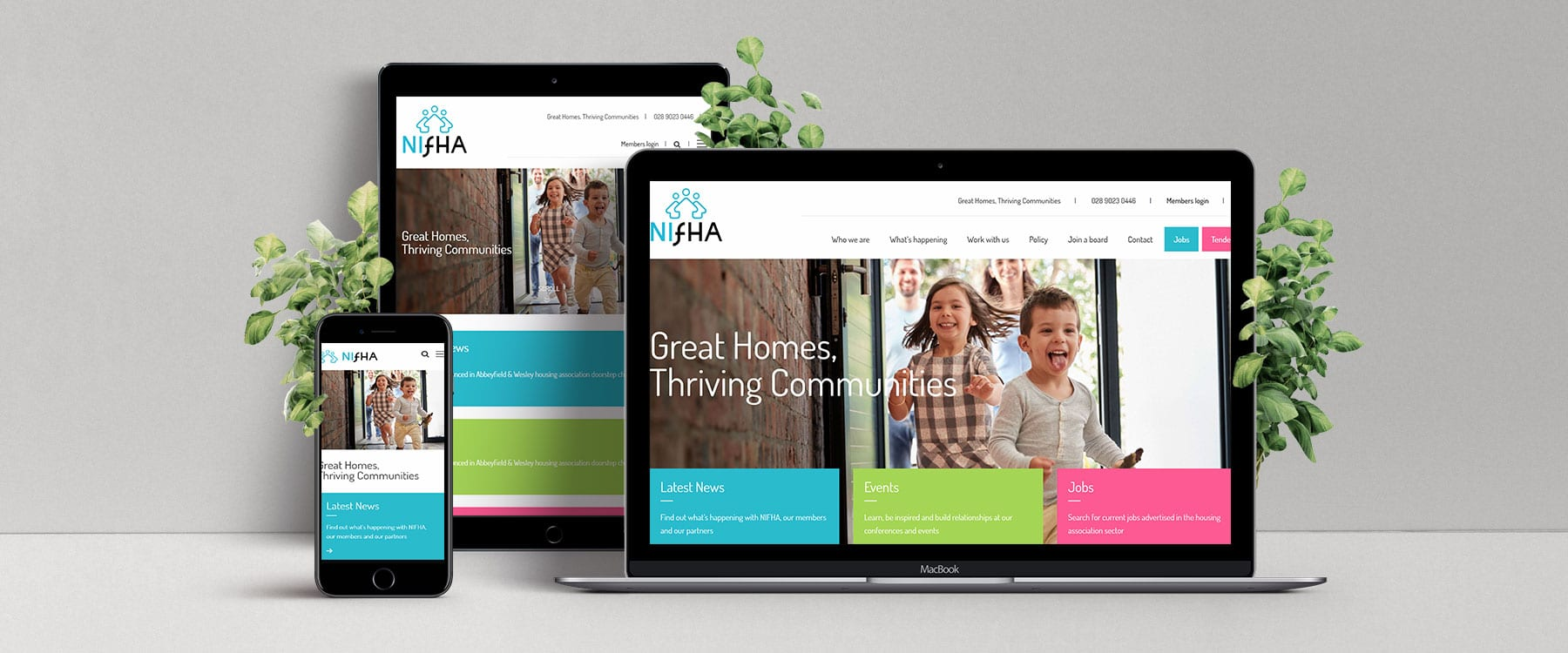 Sleek & Engaging New Website for NIFHA Image