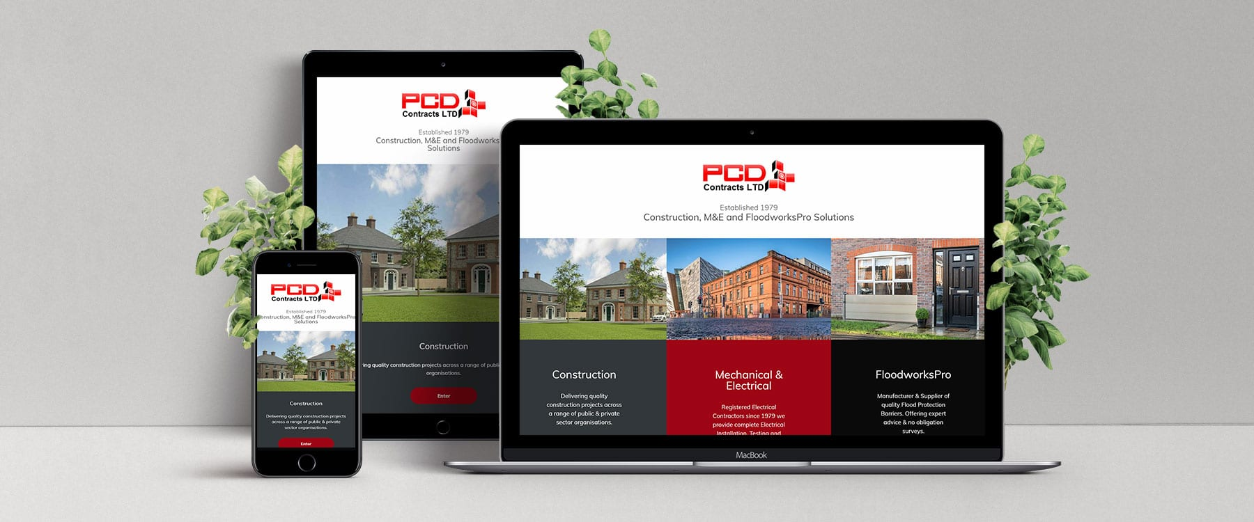 Brand New Multi Website for PCD Contracts LTD Image
