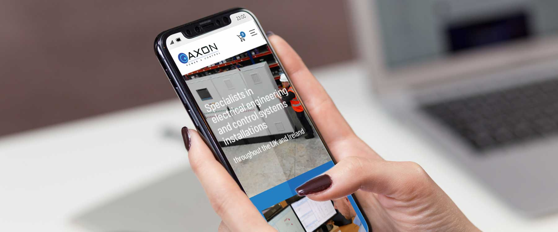 Axon Power & Control Launch New Online Shop for Spare Parts Image