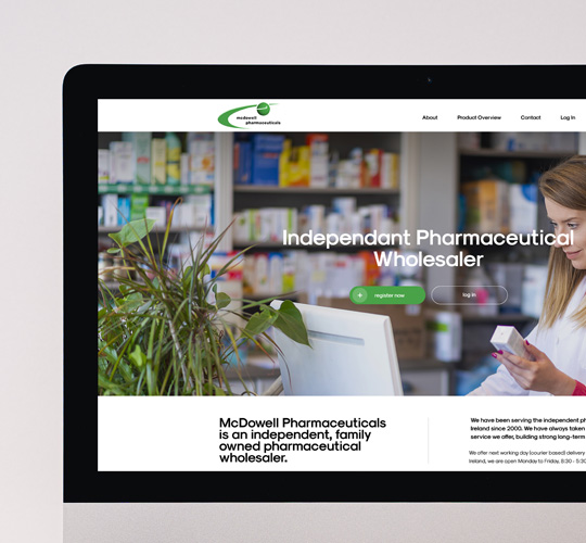 Bespoke new eCommerce Website for McDowell Pharmaceuticals Featured Image