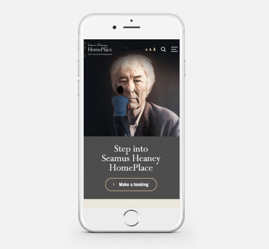 New Website for Award-Winning Visitor Attraction Seamus Heaney HomePlace Featured Image