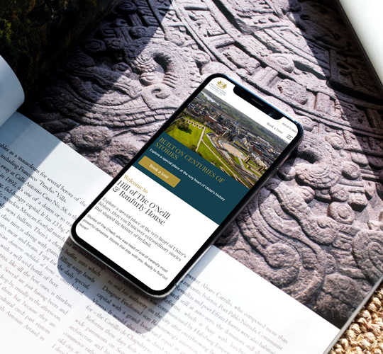 New Engaging Website for Hill of the O'Neill & Ranfurly House Featured Image