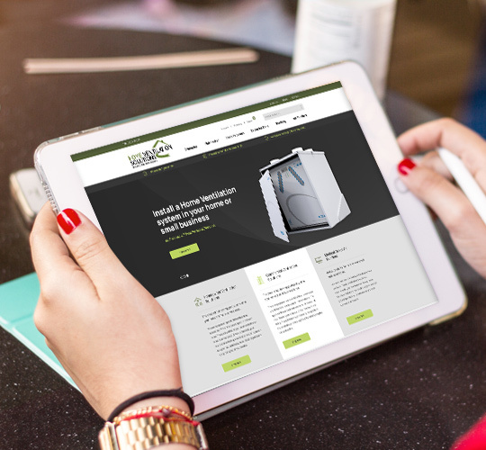 New eCommerce Website for Home Ventilation Solutions Featured Image