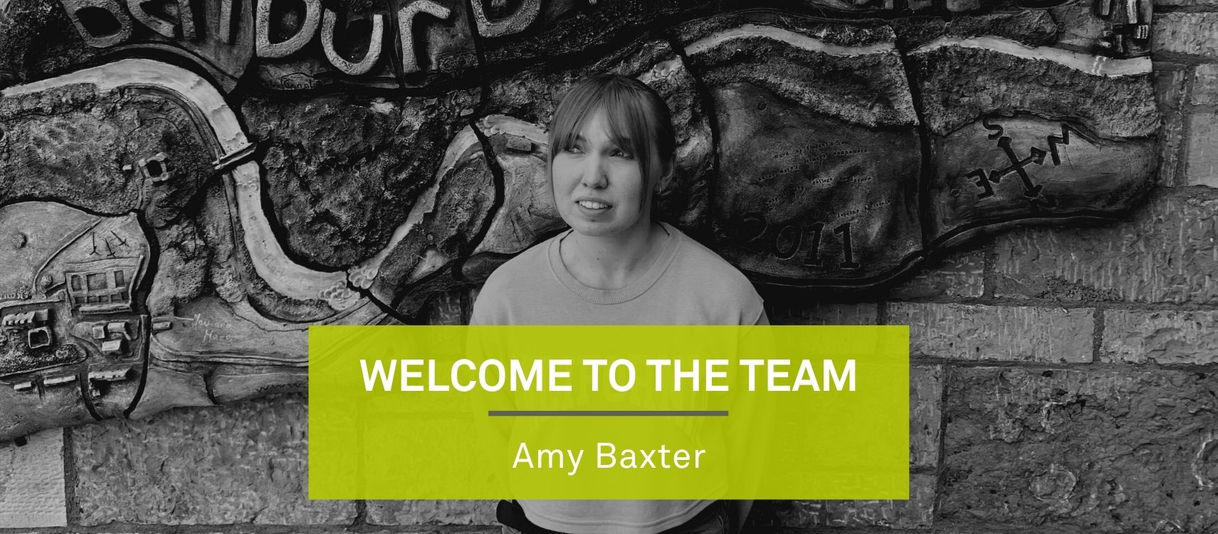 Welcome to the team, Amy Baxter! Image