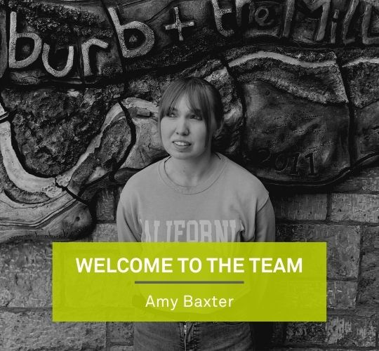 Welcome to the team, Amy Baxter! Featured Image