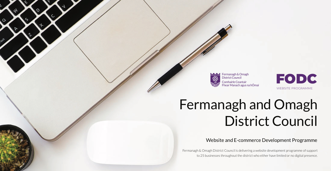 WebsiteNI Launch Website Development Programme with Fermanagh and Omagh District Council! Image